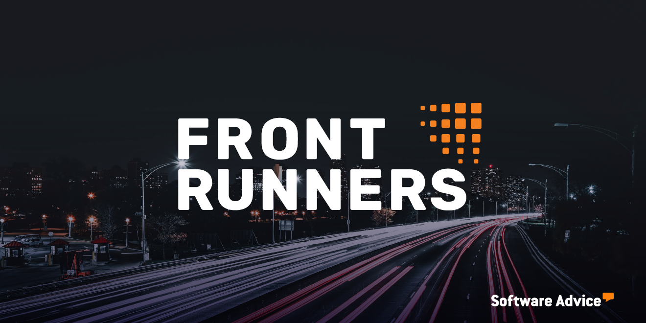 ProjectTeam named Front Runner by Software Advice in 2020